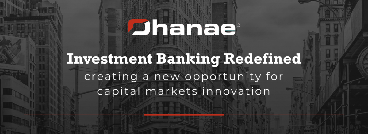 A New Kind of Investment Bank Powered by Ohanae